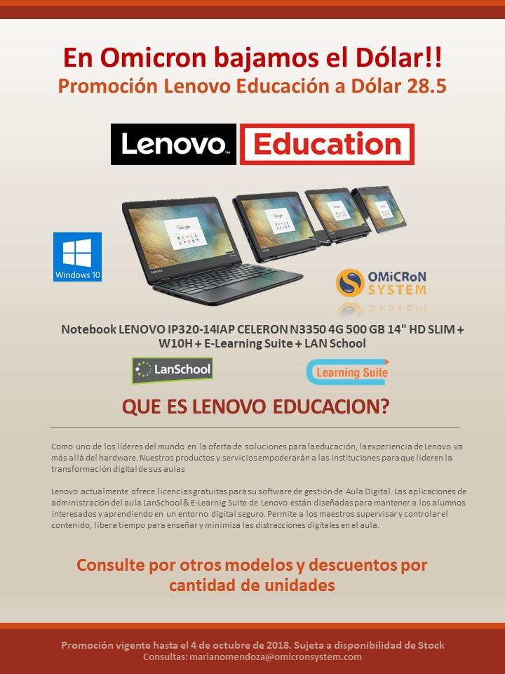 Promocion Lenovo Sept logos