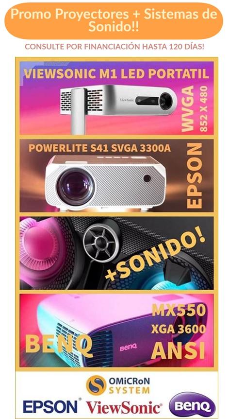 promo proyectores + sonido